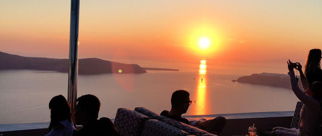 Buddha-Bar opened in the breathtaking scenario of the Santorini Caldera