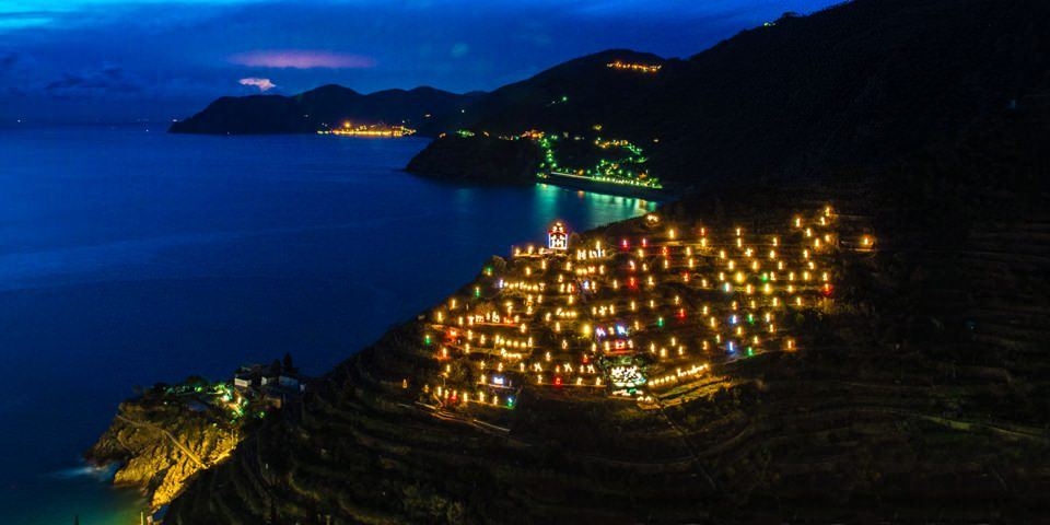 Manarola and its Nativity Scene