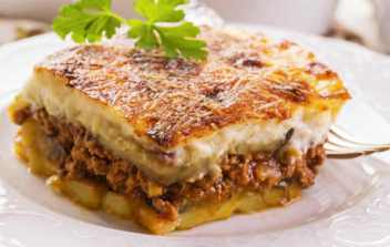 Greek dishes - Moussaka