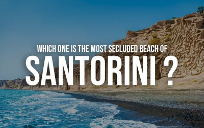 Which one is the most Secluded Beach of Santorini?