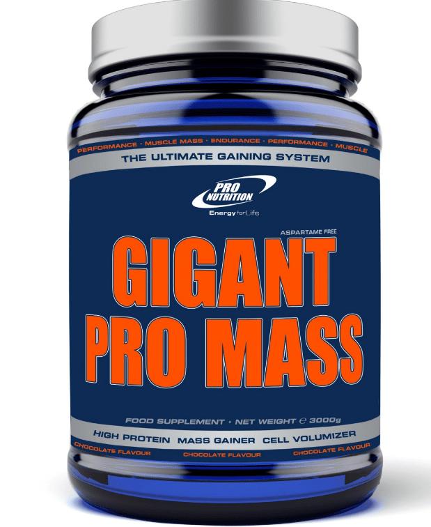 Pareri Gigant Pro Mass de la ProNutrition - gainer de calitate