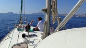 croisiere voile mediterranee en couple amoureux couple sur voilier padishah my sail location voilier avec ou sans skipper provence var bandol sanary cassis