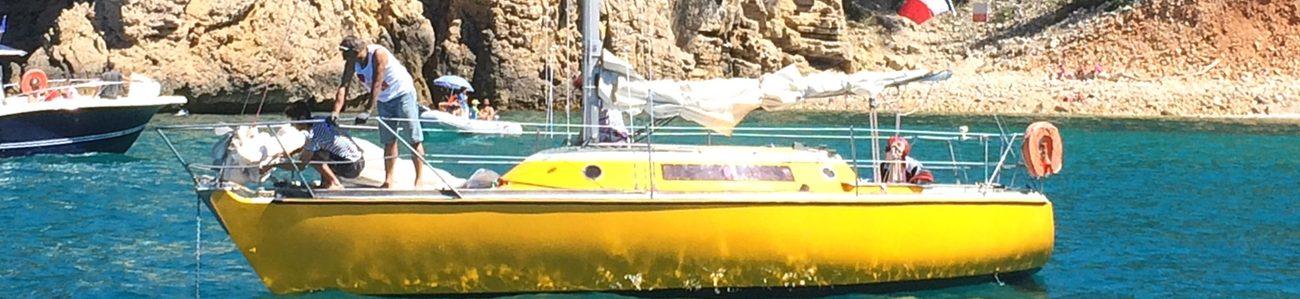 balade en mer croisiere en voilier habitable dans le var et cote azur six fours les plages ile embiez calanques provence
