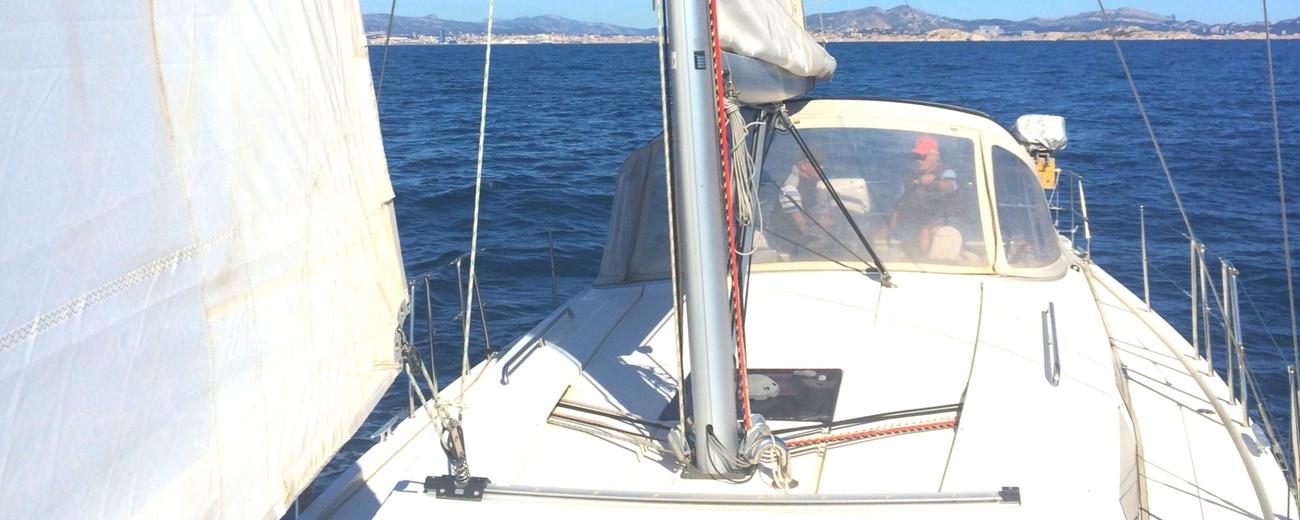 location voilier monocoque hanse 385 a marseille et dans le var avec ou sans skipper
