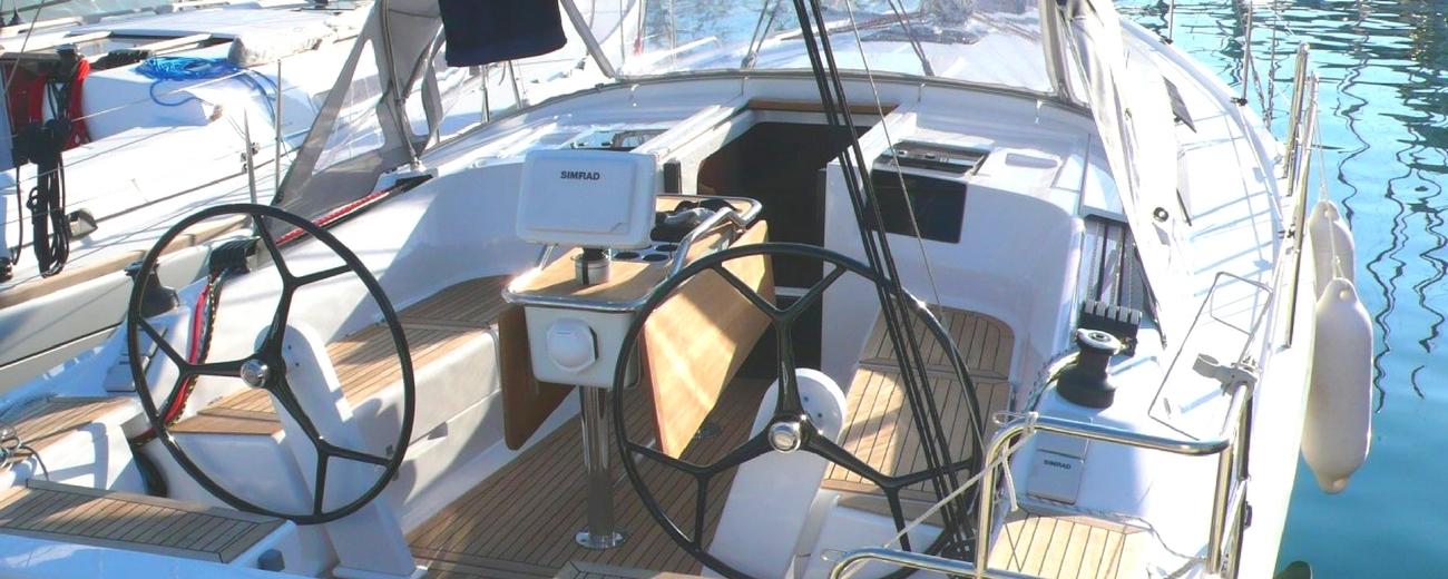 location bateau voilier hanse 385 a marseille avec skipper port corbieres calanques frioul