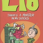 Graphic novel review: Liō – There's a Monster in My Socks by Mark Tatulli