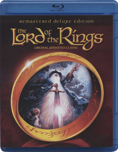 "Cover of the Blu-ray release of ""The Lord of the Rings"", directed by Ralph Bakshi."