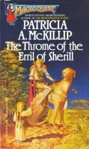 "Cover of ""The Throme of the Erril of Sherill"" by Patricia A. McKillip."