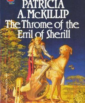 "Cover of ""The Throme of the Erril of Sherill"" by Patricia McKillip."