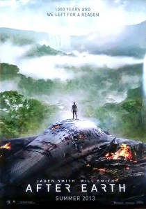 "Film poster for ""After Earth""."