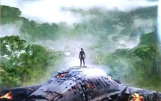 """Film poster for """"After Earth""""."""