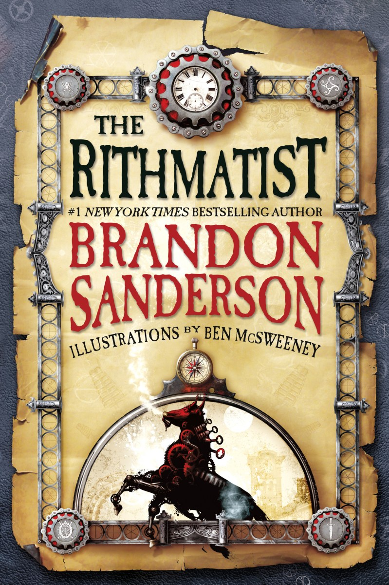 The Rithmatist by Brandon Sanderson - book review
