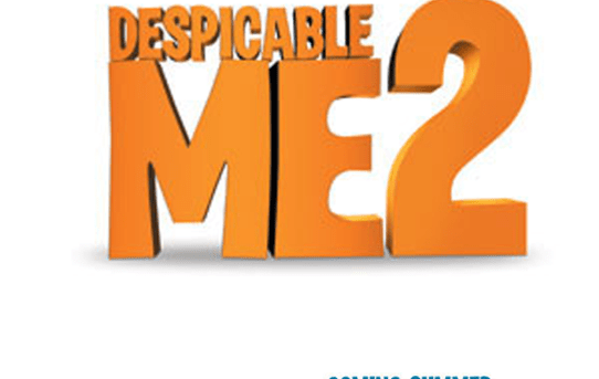 "Movie poster for ""Despicable Me 2""."