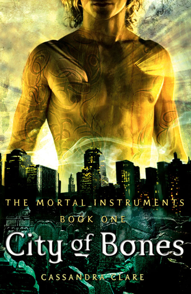 "Cover of ""City of Bones"" by Cassandra Clare."