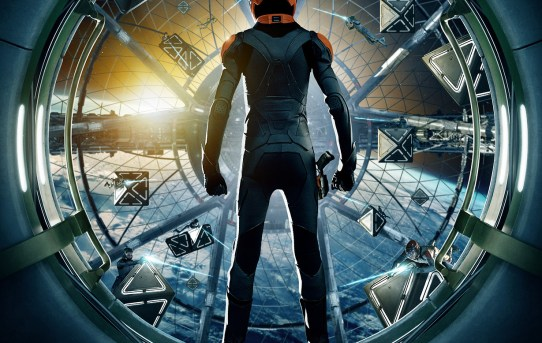 "Theatrical poster for ""Ender's Game""."