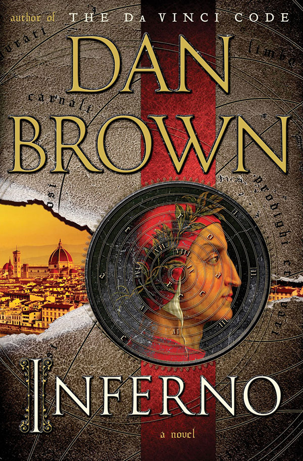 """Cover of """"Inferno"""" by Dan Brown."""