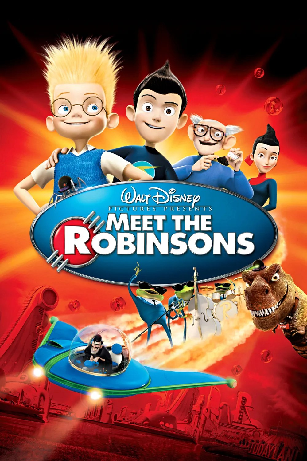 """Cover of """"Meet the Robinsons"""" from Walt Disney Animation."""