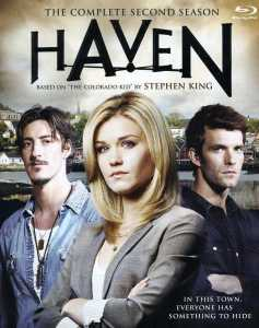 "Cover of the home video release of ""Haven"" season two."