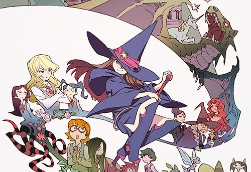 Little Witch Academia - short film review