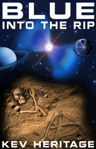 "Cover of ""Blue Into the Rip"" by Kev Heritage."