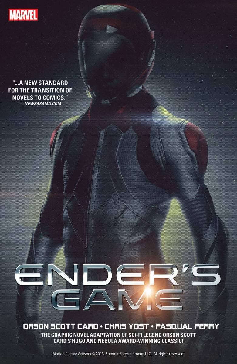 Graphic novel review: Ender's Game by Orson Scott Card, Chris Yost, and Pasquale Ferry
