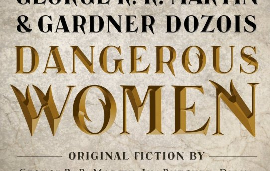 "Cover of ""Dangerous Women"", edited by George R.R. Martin and Gardner Dozois."