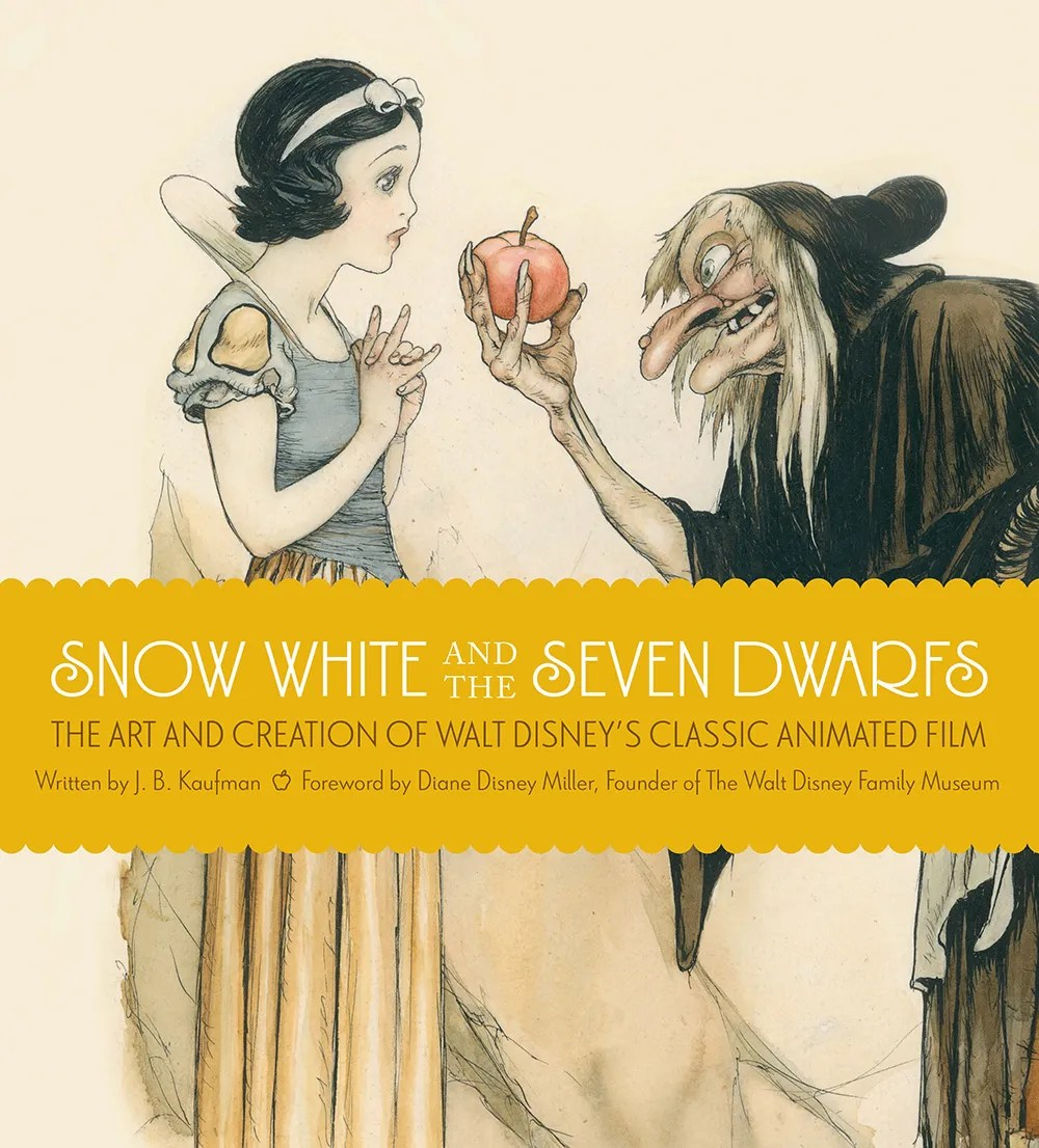 Snow White and the Seven Dwarfs - The Art and Creation of Walt Disney's Classic Animated Film by J.B. Kaufman - art book review