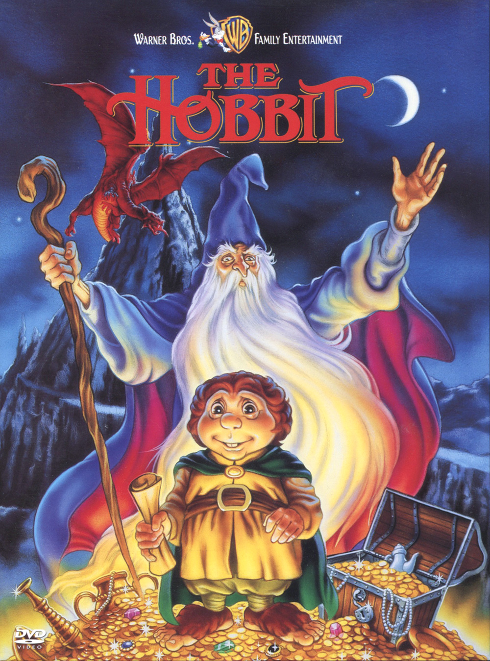 Cover of the DVD release of the 1977 animated film,