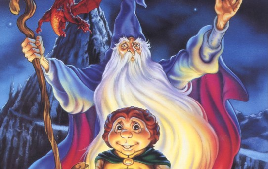 "Cover of the DVD release of the 1977 animated film, ""The Hobbit"", from Rankin/Bass."