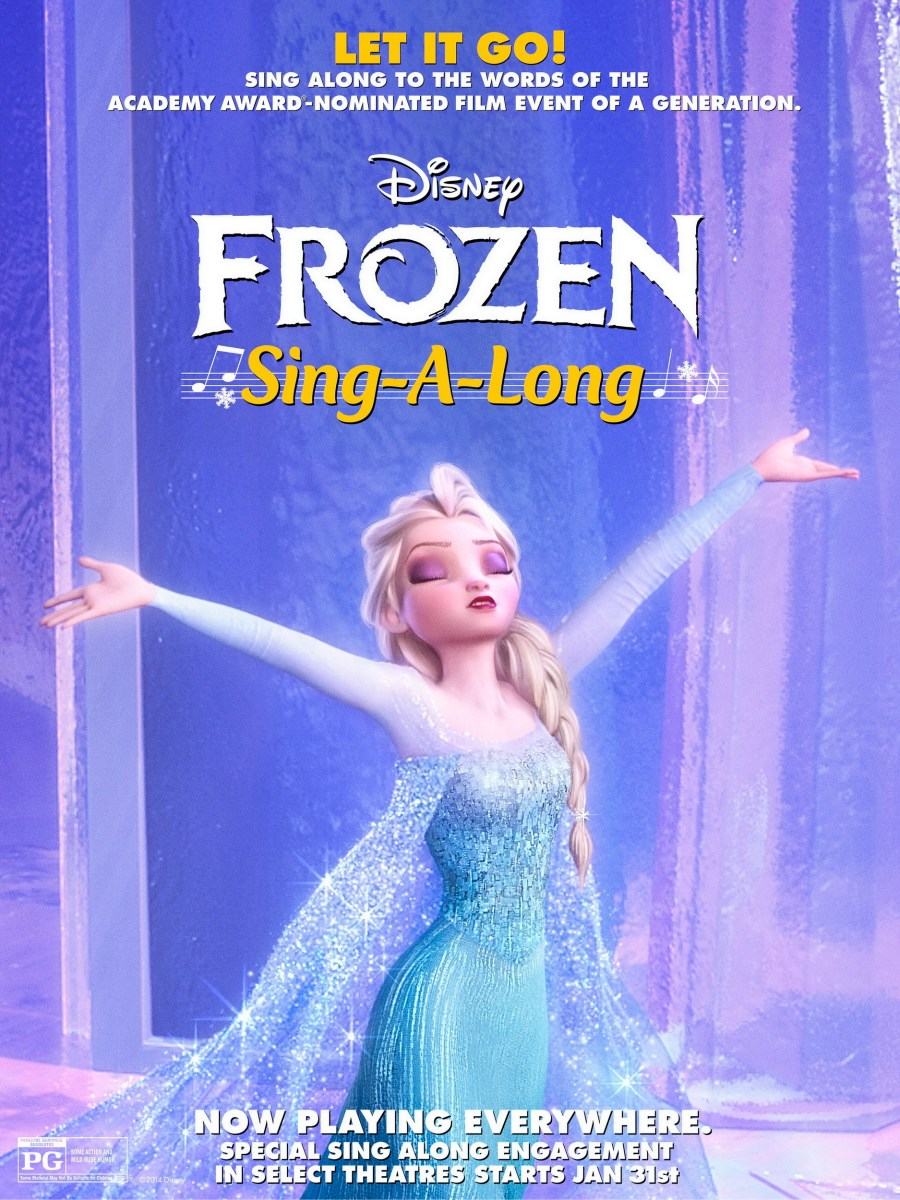 Thoughts on the Frozen Sing-A-Long - special