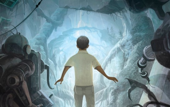 "Cover of ""The Boy at the End of the World"" by Greg van Eekhout."