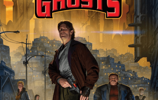 "Cover of ""Cauldron of Ghosts"" by David Weber and Eric Flint."