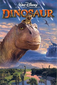 "Theatrical teaser poster for ""Dinosaur""."