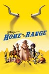 """Home on the Range"" theatrical teaser poster."