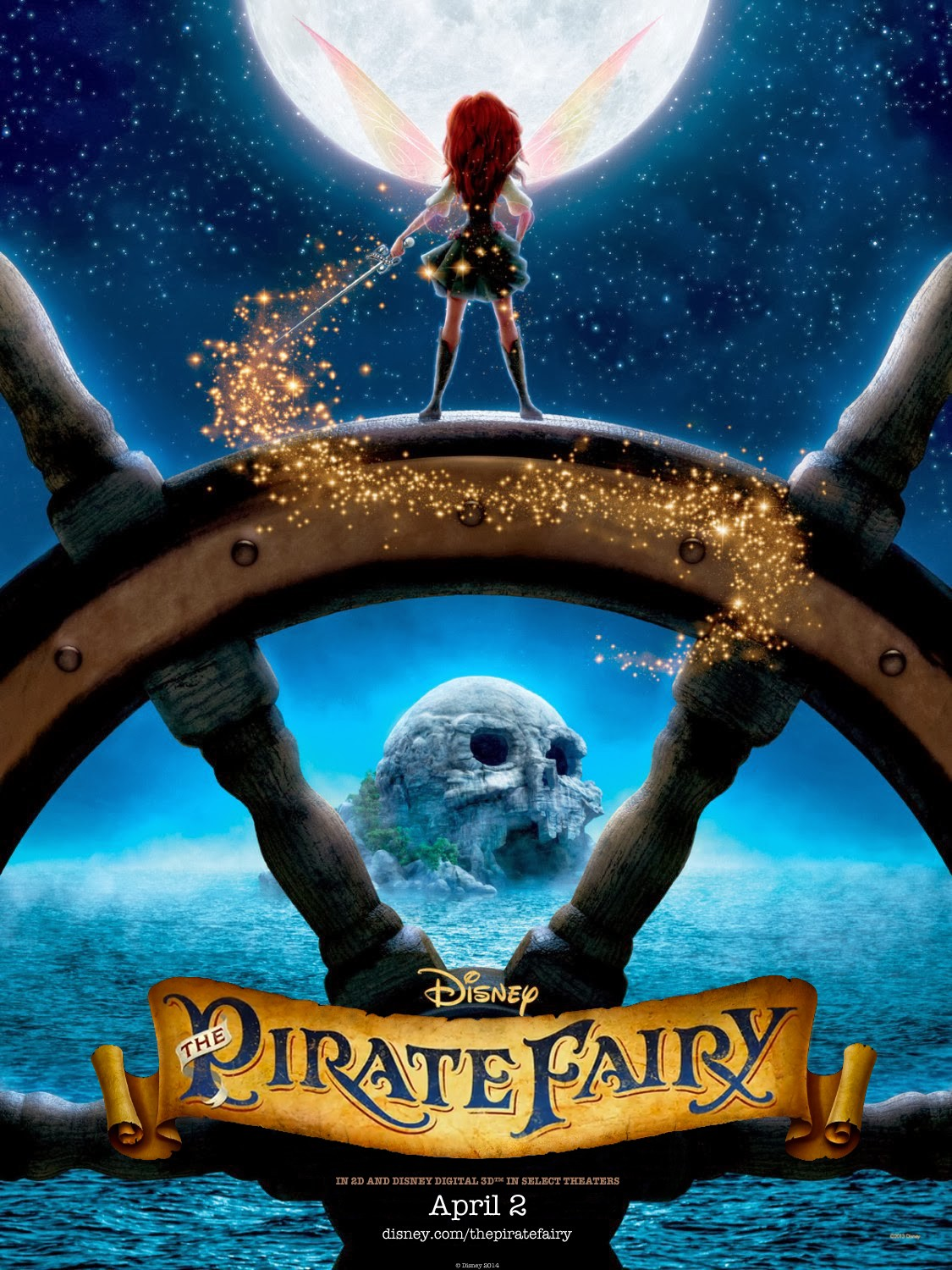 """Teaser poster for """"The Pirate Fairy"""" limited theatrical release."""