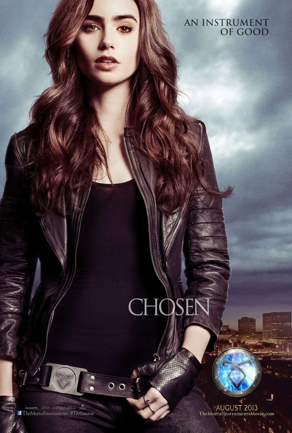 The Mortal Instruments City of Bones poster