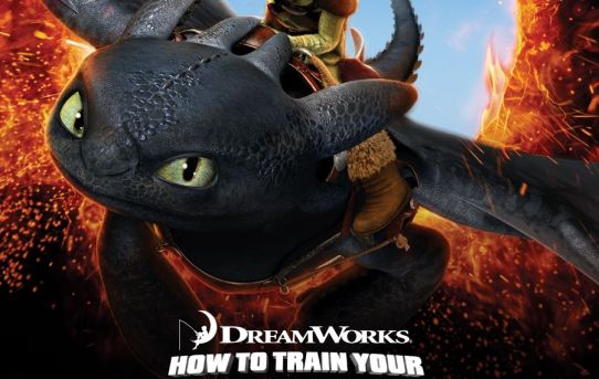 """""""How to Train Your Dragon"""" poster."""