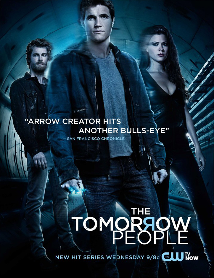 The Tomorrow People - CW promotional poster