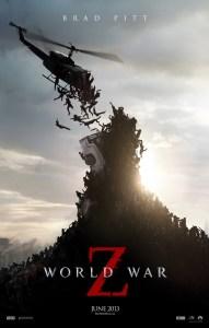 """World War Z"" theatrical teaser poster."