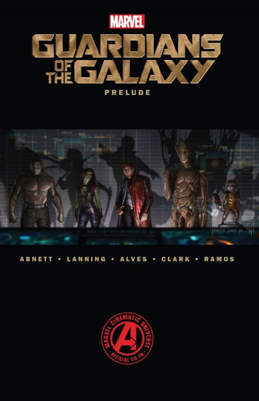 Marvel's Guardians of the Galaxy Prelude cover