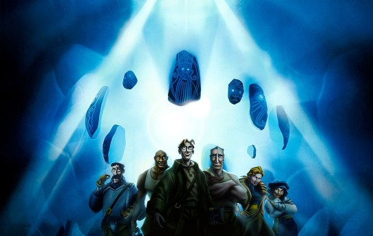 """Atlantis: The Lost Empire"" theatrical poster."
