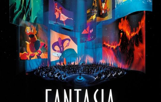 "Theatrical teaser ""Fantasia 2000"" poster."