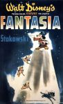 "Theatrical teaser poster for ""Fantasia""."