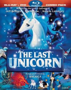 """The Last Unicorn"" Blu-ray cover."