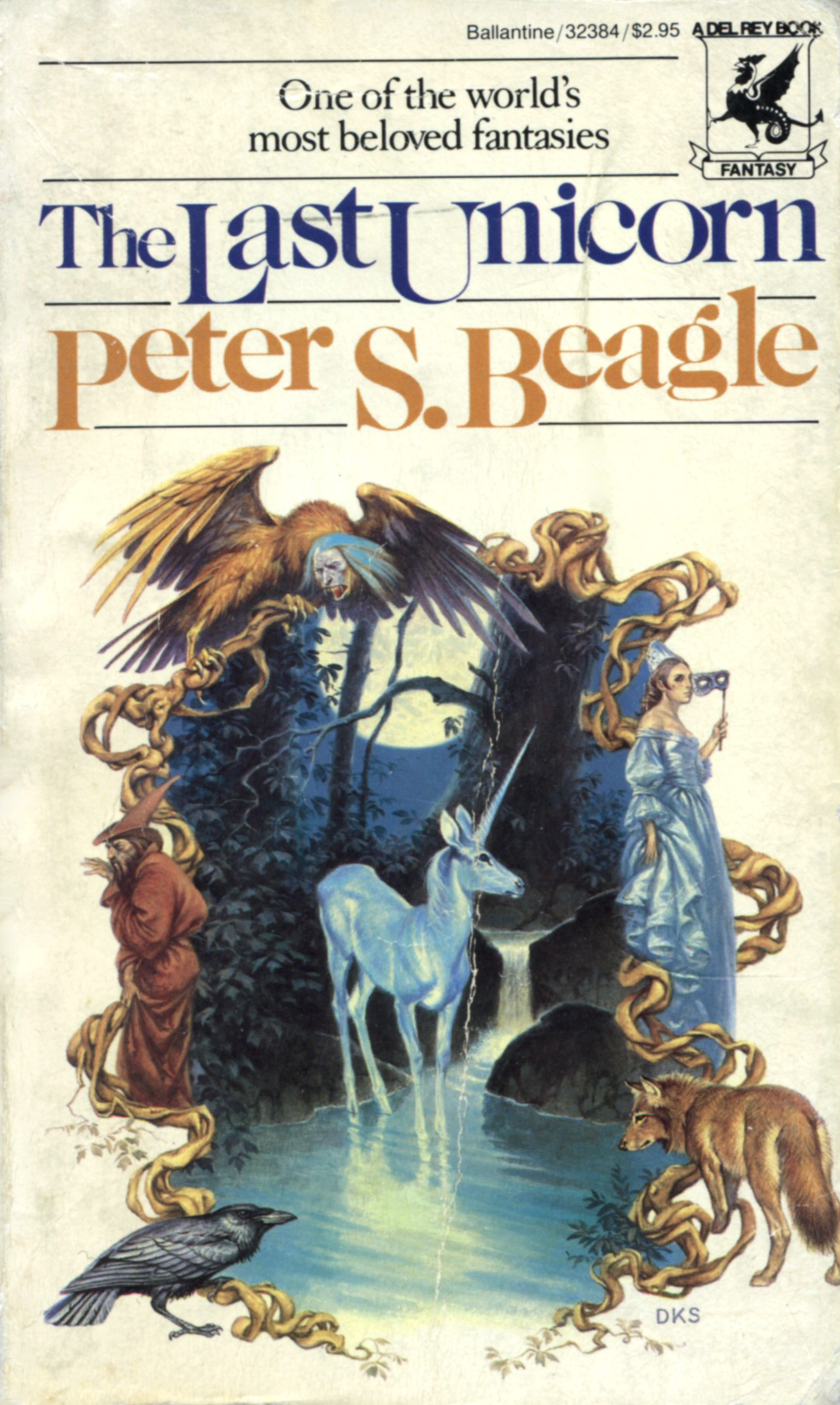 """The Last Unicorn"" by Peter S. Beagle."