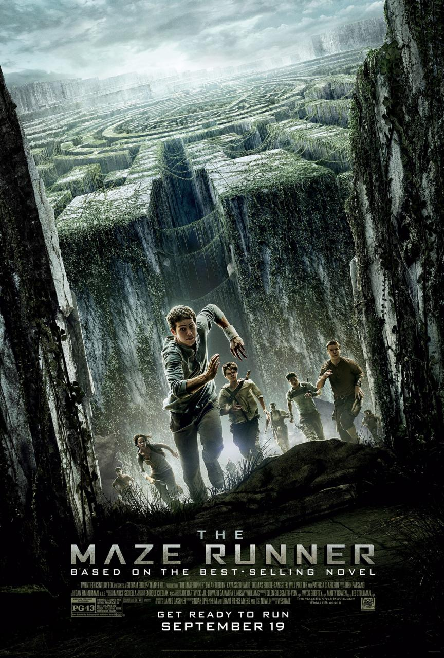 """The Maze Runner"" movie poster."