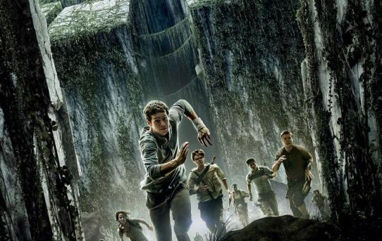 """The Maze Runner"" movie poster."