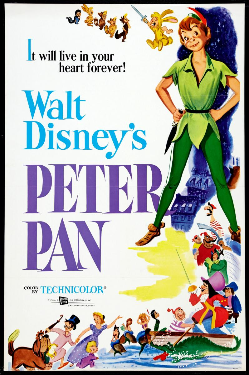 Theatrical teaser poster for Peter Pan