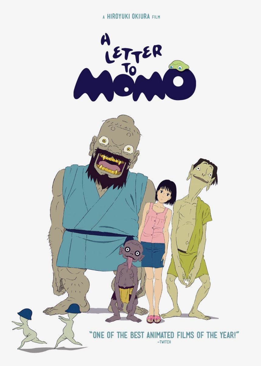 A Letter to Momo - animated film review