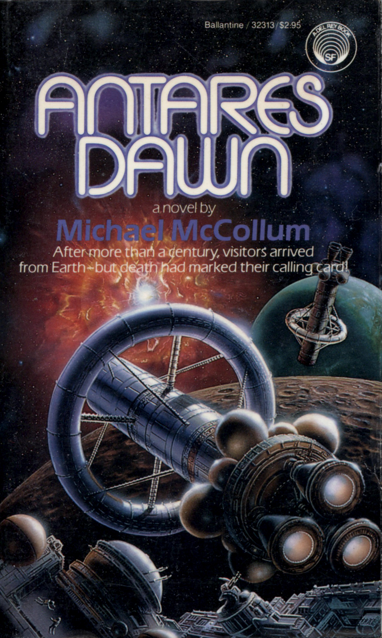 """Antares Dawn"" by Michael McCollum."